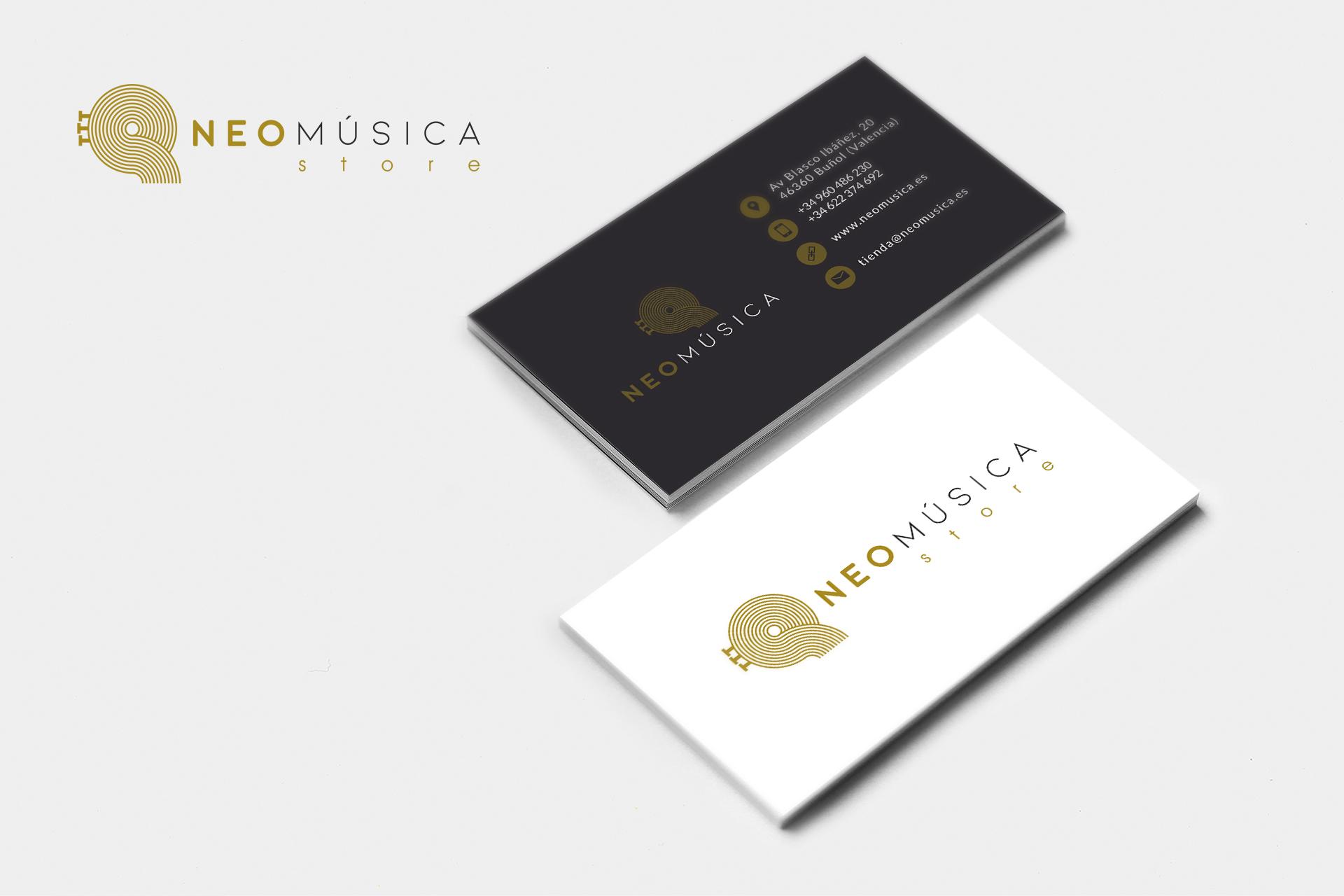 neomúsica - Diseño de Imagen corporativa