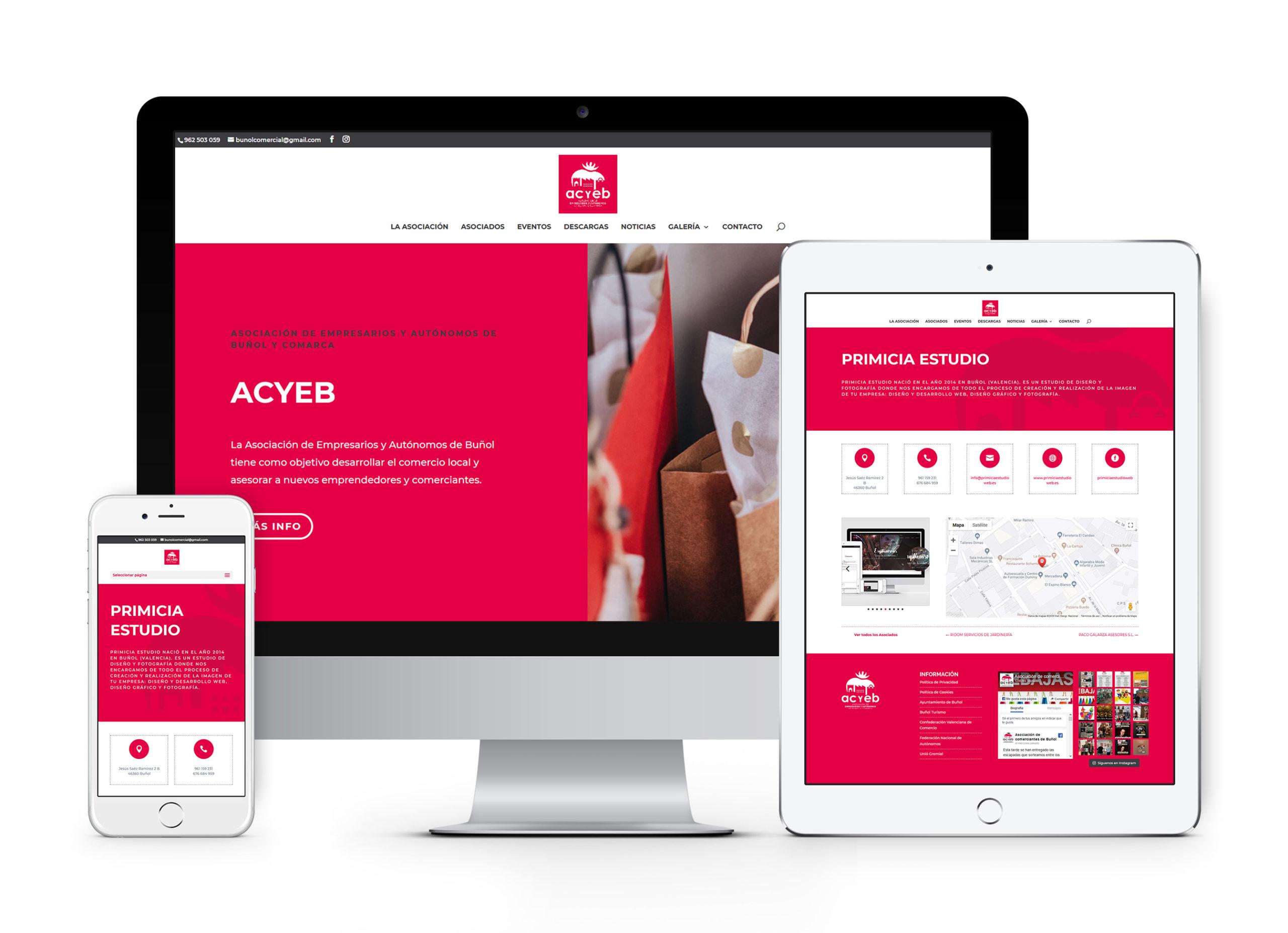 acyeb - Diseño gráfico y web
