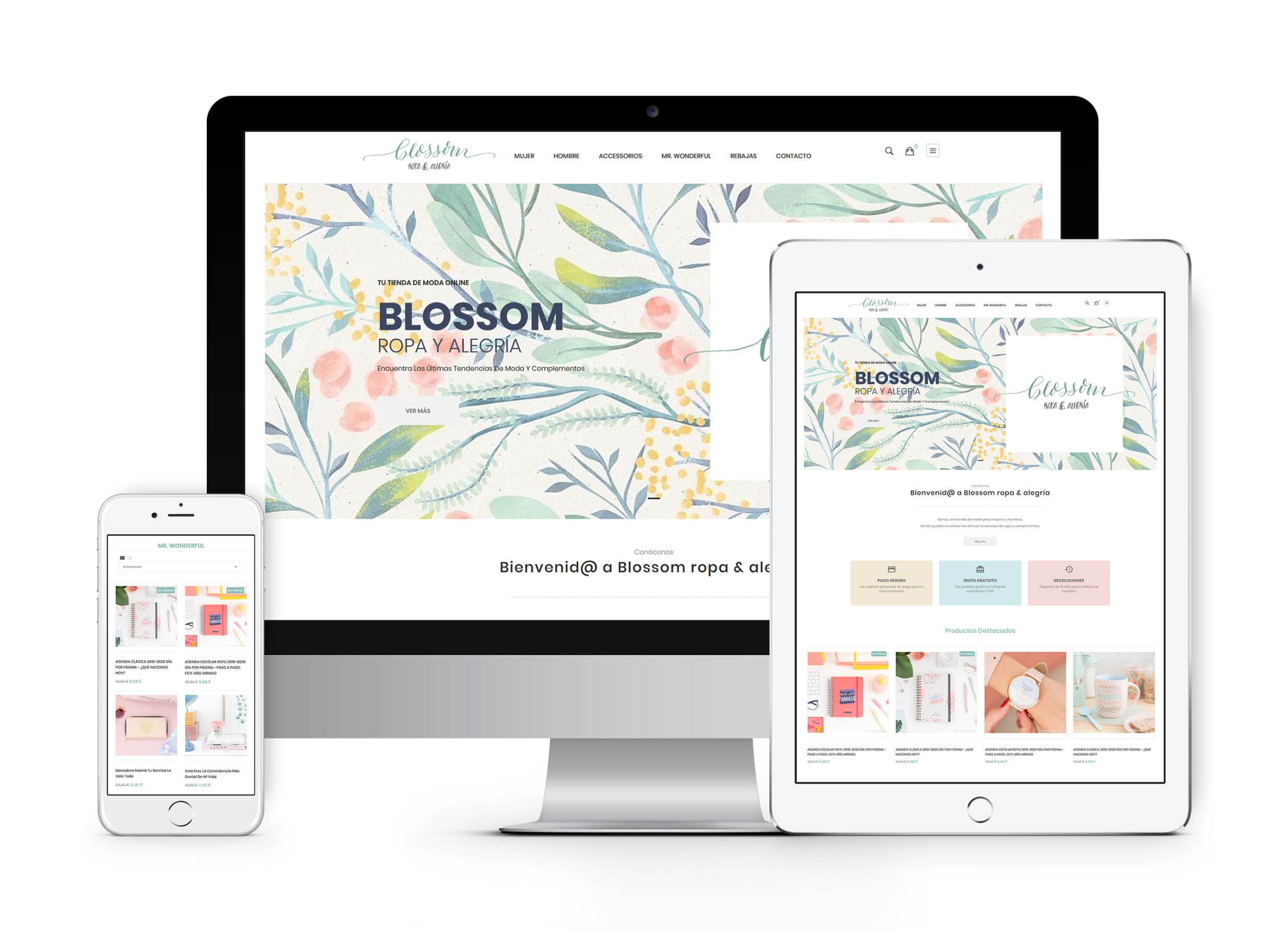 Blosssom - Diseño y desarrollo de tienda online