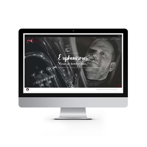 Euphonismos - Diseño y Desarrollo web