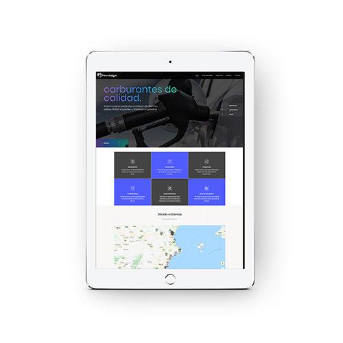 Petrobalgar - Diseño y desarrollo web