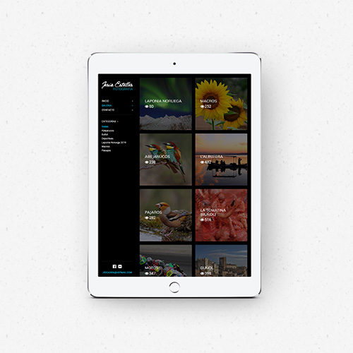 Jesús Estellés - Diseño de portfolio web