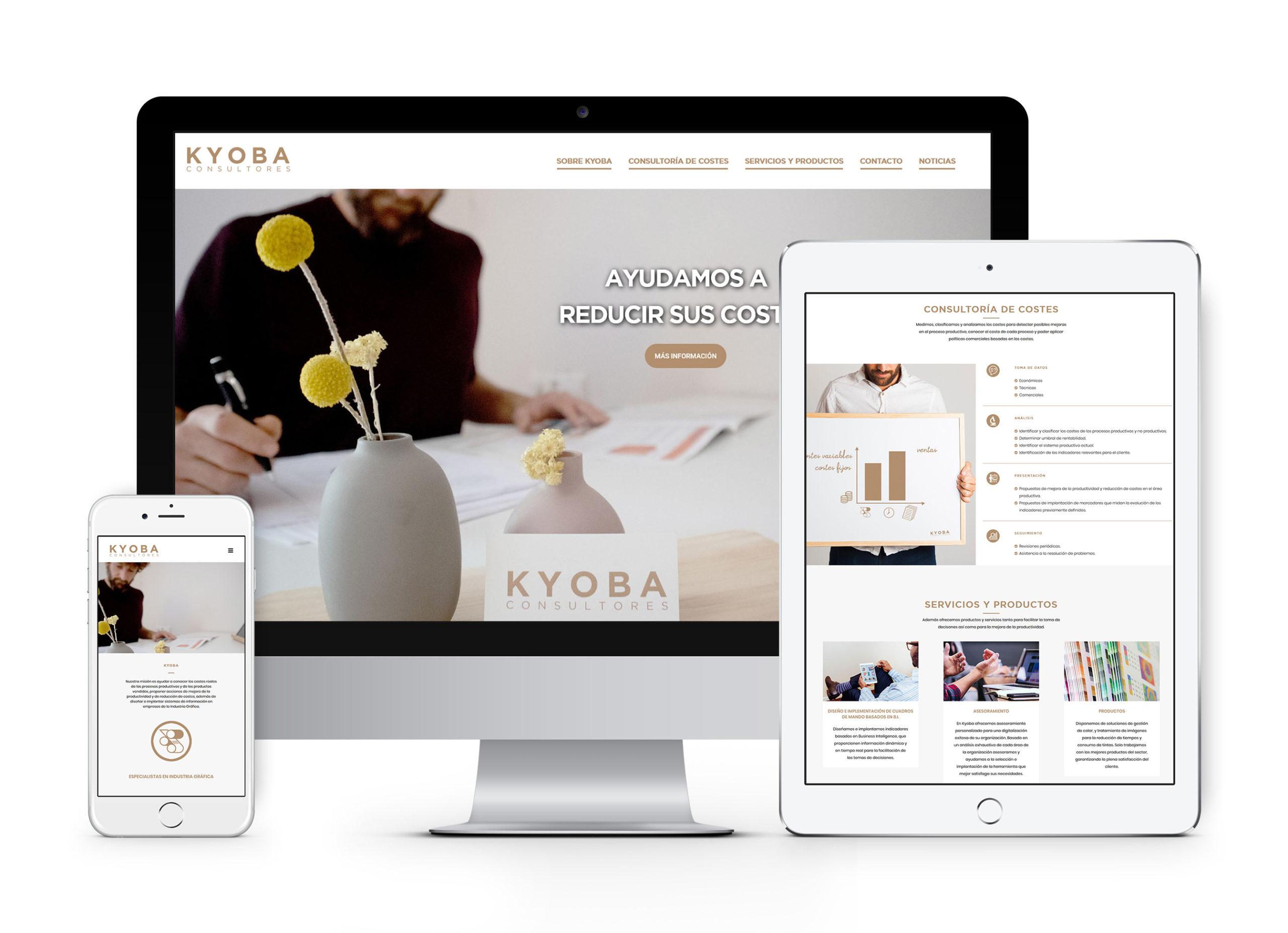 Kyoba - Diseño y desarrollo web