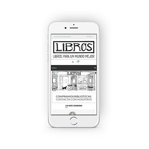 Libros para un mundo mejor - Diseño y desarrollo de tienda online