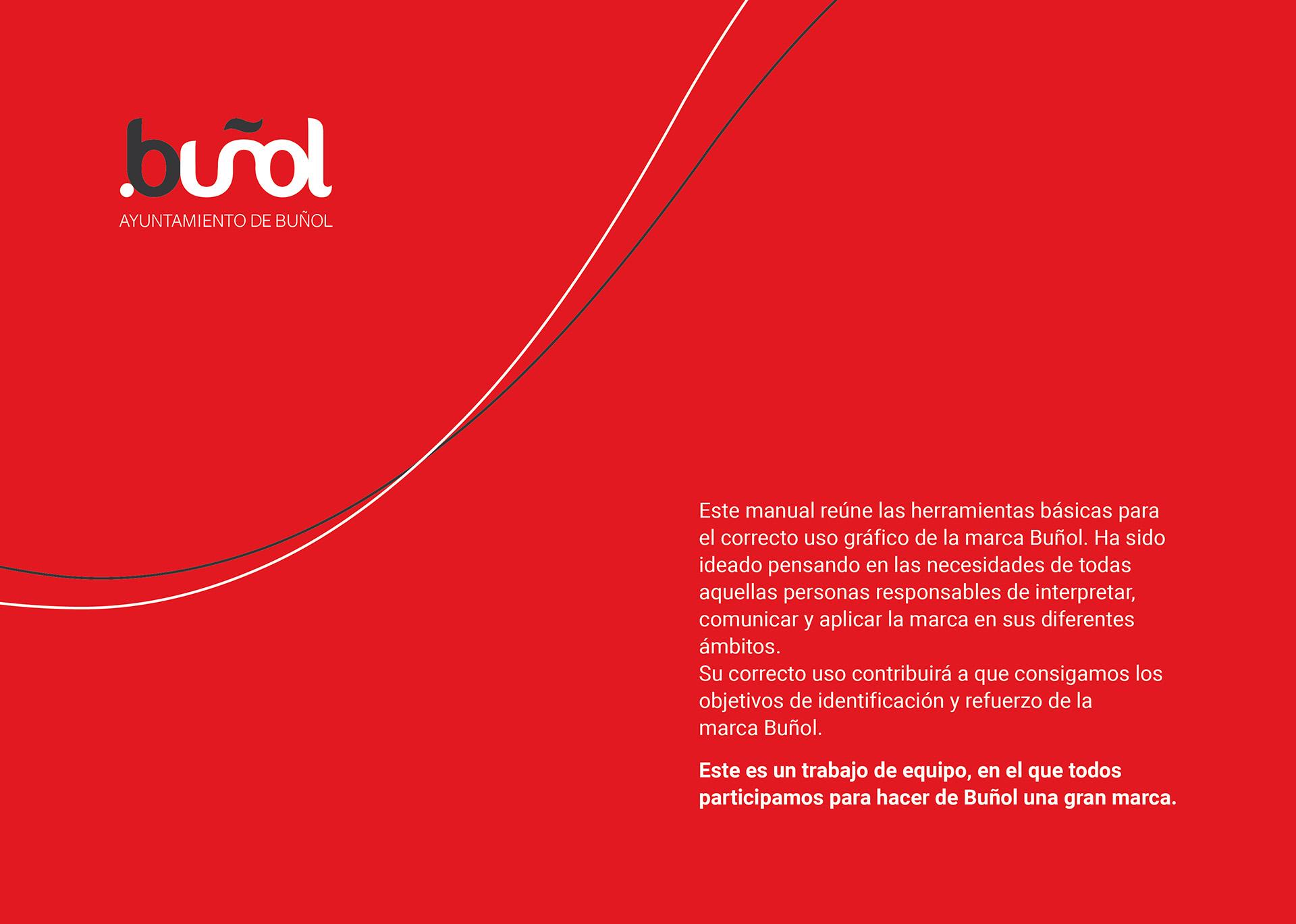 buñol - Diseño de imagen corporativa