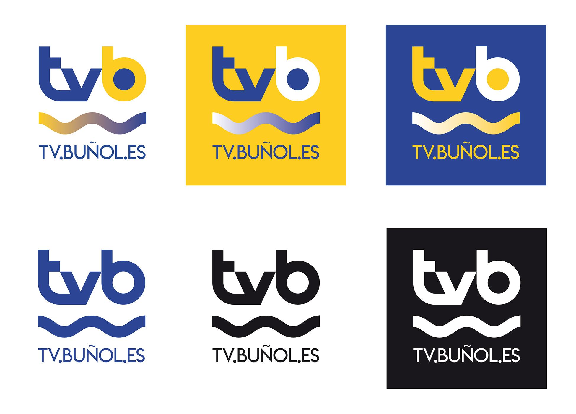 Radio Televisión Buñol - Diseño de identidad corporativa