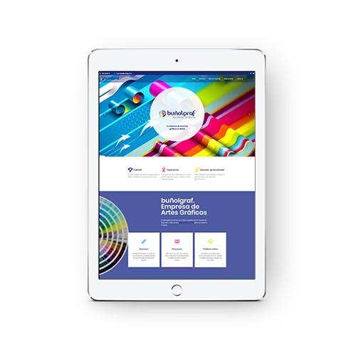 buñolgraf - Diseño y desarrollo web